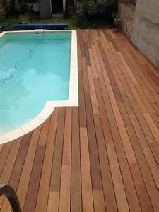Tour De Piscine Bois : tour de piscine en itauba a marseille parquet et terrasse ~ Premium-room.com Idées de Décoration