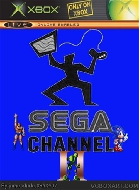 siege chanel sega channel 2 xbox box cover by jamesdude