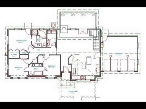 ranch house plan  bdrm  bath  sq ft youtube