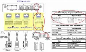 Nec Sl2100 External Paging Setup