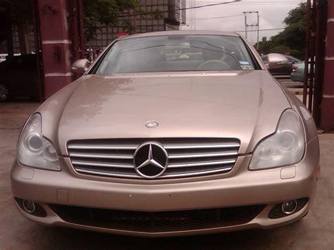 So war zwischen 2004 und 2006 ein fahrzeug mit. A Super Clean Toks 2006 Mercedes Benz Cls 500 For Sale Price - Autos - Nigeria