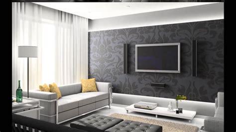 25 Modern Living Rooms With Cool, Clean Lines : Tv Arkası Duvar Dekorasyonu ( Taş Kaplama )