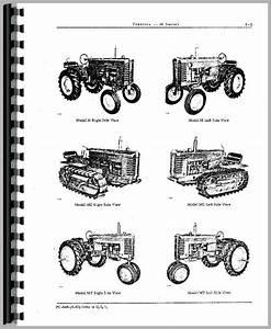 John Deere M Tractor Parts Manual