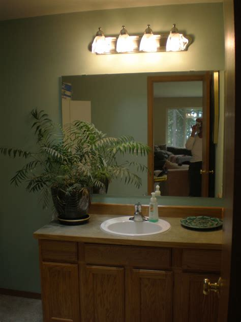 Bathroom Light Fixtures Above Mirror by New Bathroom Lighting On Mirrors Unique Modern Led