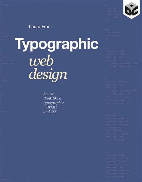 typographic web design how to think like a typographer in html and css book suggestion