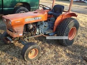 John Deere Garden Tractor With Loader  Kubota L185 Loader