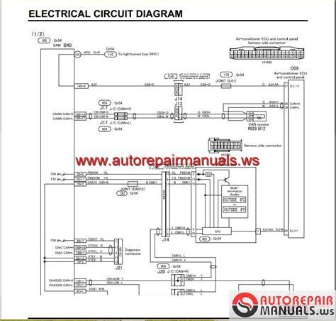 mitsubishi canter 2012 service manual auto repair manual