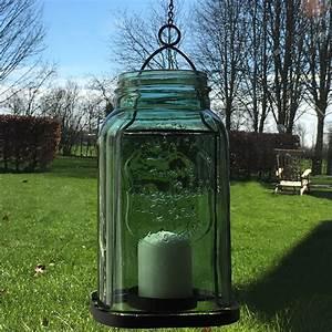Glas Windlicht Zum Hängen : laterne retro gr n glas zum h ngen windlicht metall shabby vintage nostalgie lan ebay ~ Bigdaddyawards.com Haus und Dekorationen
