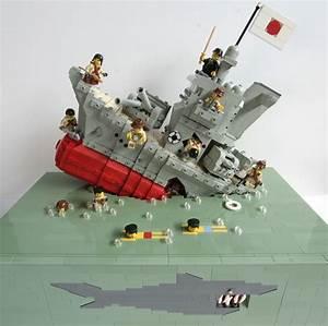 Flower Class Corvette Lego model [3464x2144] [OC ...