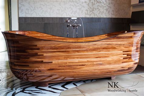 wooden sinks and bathtubs wooden bathtubs for modern interior design and luxury