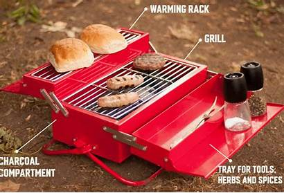 Toolbox Barbecue Grill Portable Bbq Done Job