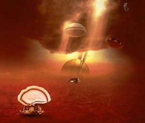 Challenges of landing on alien worlds / Cassini-Huygens ...