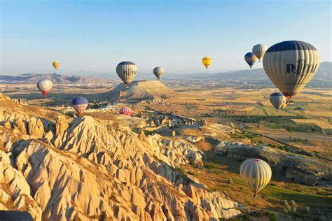 81. Rise above Cappadocia in a hot air balloon ...