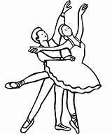 Ballet Azcolorear Dibujos Colorear sketch template