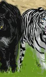 Tigers Curse Series | Tiger painting, Modern wall paint ...