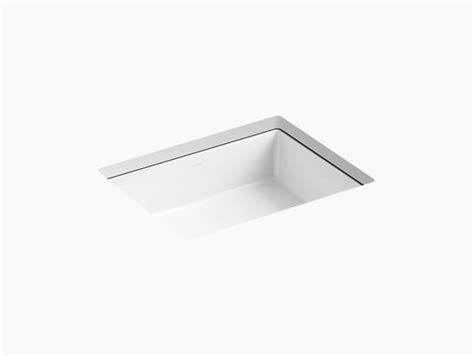 kohler verticyl rectangular undermount sink k 2882 verticyl undermount rectangular sink kohler