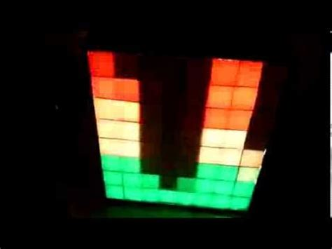 tiny arduino visualizer with digital led pixels