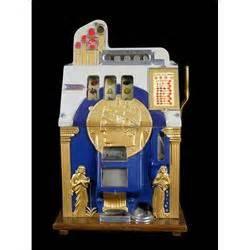 """""""mills"""" 5 Cent Golden Bell """"roman Head"""" Slot Machine"""