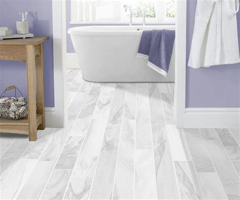 Clever Click Vinyl Flooring White Wash Pine