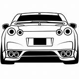 Gtr Coloring Pages Nissan Printable Skyline R34 Downloadable Sheets Educativeprintable Educative Sheet Gt Cars Turbo Autospost Via Fast sketch template