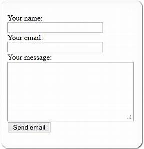 simple php contact form script for your website With simple php page template