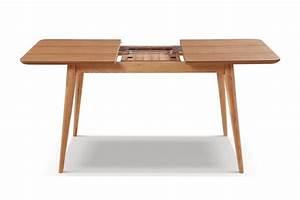 table de salle a manger extensible en bois adda dewarens With table salle a manger extensible en bois pour petite cuisine Équipée