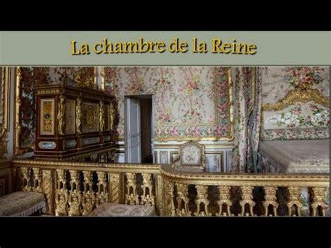 chambre antoinette la chambre de la reine antoinette à versailles