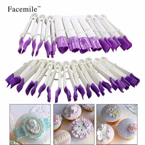 facemile pcsset sugar craft cake decorating fondant