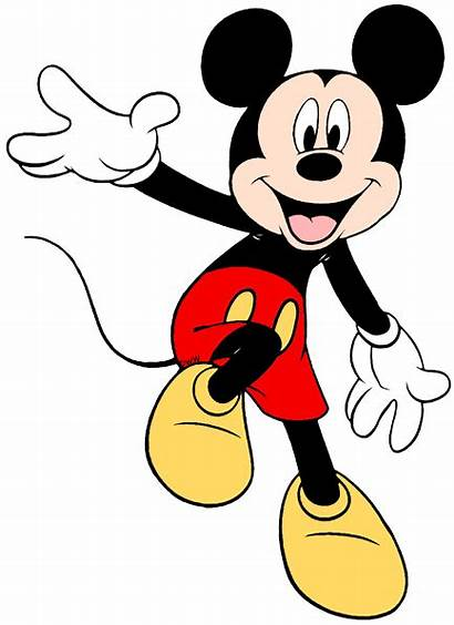 Mickey Mouse Clipart Disney Clip Characters Transparent