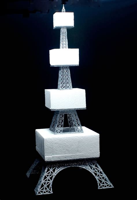 multi tier eiffel tower cake stand artifacture