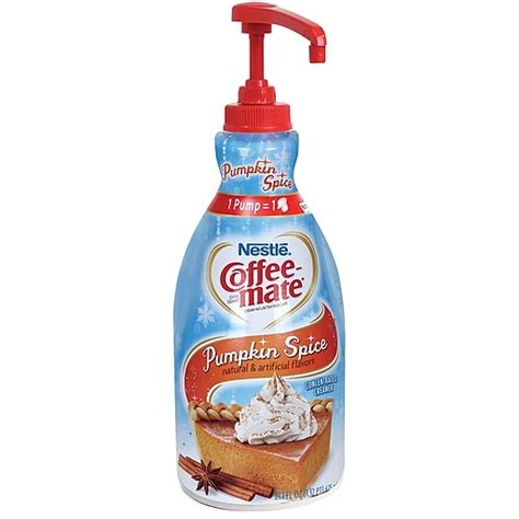 With just 3 ingredients you can make your own have you ever made your own coffee creamer??!! Nestlé® Coffee-mate® Coffee Creamer, Pumpkin Spice, 1.5L liquid pump bottle, 1 bottle at Staples