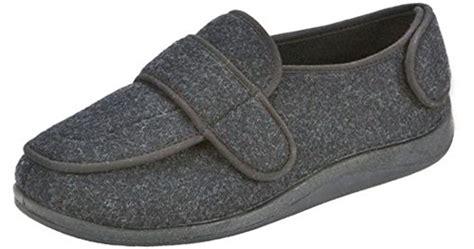 Foamtreads Men's Extra-depth Wool Slippers,charcoal,10.5 M