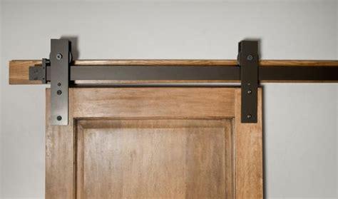hand  interior barn door hardware flat track