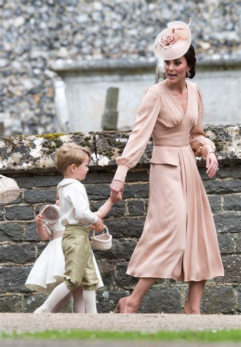 prince george stole headlines  pippas wedding