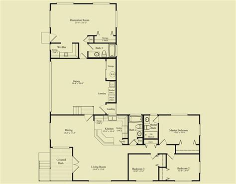 shaped house plans  garage house  shaped house