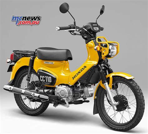 Honda Cub honda cub 110 commemorative edition concept mcnews