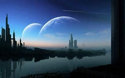 Future Wallpapers Futuristic Cities Desktop 1080p Technology