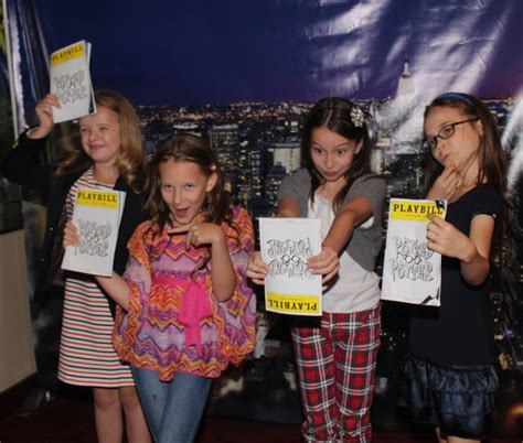 milly shapiro related to ben shapiro photo coverage potted potter welcomes the matildas to