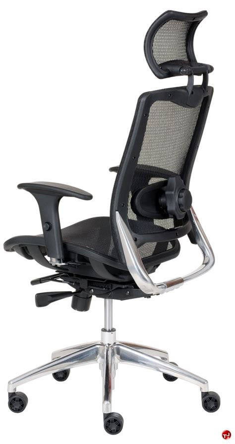 the office leader milo high back ergonomic mesh office
