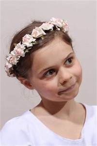 Couronne De Fleurs Mariage Petite Fille : robe blanche cort ge mariage robe de c r monie fille communion ~ Dallasstarsshop.com Idées de Décoration