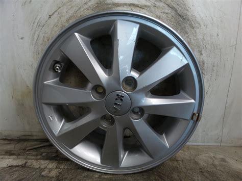 2014 Kia Picanto Alloy Wheel 4 Stud 8 Spoke 55j X 14 Inch