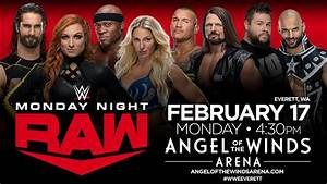 Angel Of The Winds Arena Seating Chart Wwe Monday Night Raw Angel Of The Winds Arena