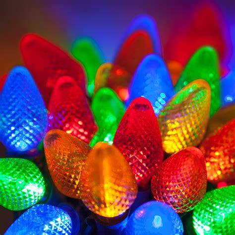 Led Christmas Lights  25 C7 Multi Color Led Christmas