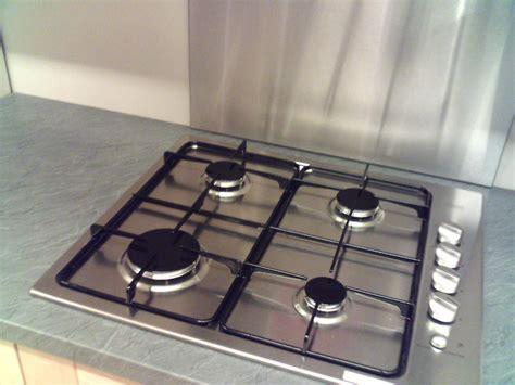 plaque cuisine gaz cuisine moderne inox