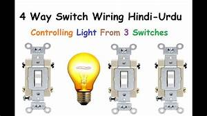 4 Way Switch Wiring Hindi  U0026 Urdu
