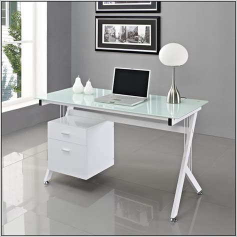 glass top office glass top office desk uk desk home design ideas
