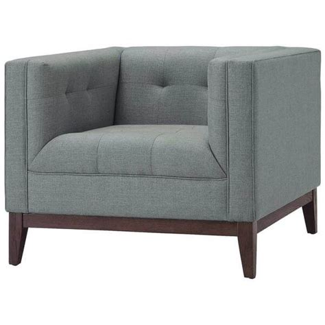 Gray Sofa Chair by Coop Sofa Chair Modern Furniture Brickell Collection