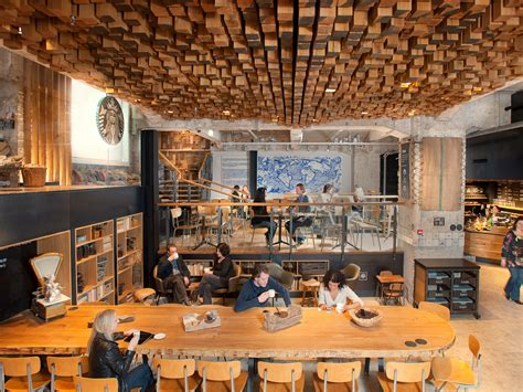 Starbucks Concept Store In Amsterdam check out starbucks beautiful new concept store in