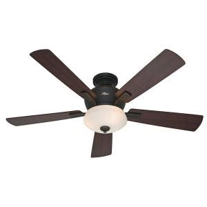 Low Profile Ceiling Fan Home Depot Canada by Barrington 54 In Onyx Bengal Indoor Ceiling Fan