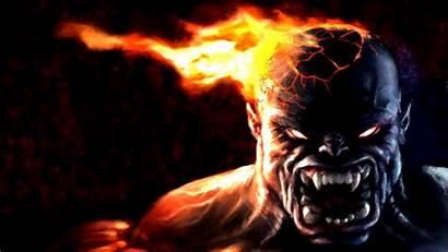 Monster Wallpapers Beast Fantasy Backgrounds Fire Dark
